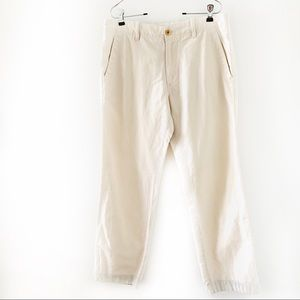 Banana Republic Relaxed Fit Linen/Cotton Pants